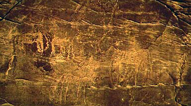 Engraving from the third group of rock art at Wadi Hamra