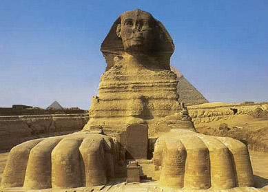 the giza plateau in egypt