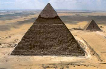Great Pyramids at Giza, Egypt