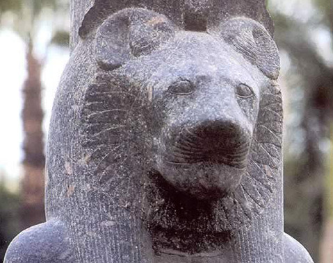 Statue of Goddess Sekhmet
