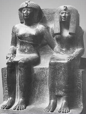 Amun and his wife