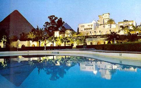 Egypt Golf Mena House Oberoi In Giza Egypt