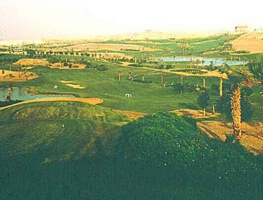 Golf Course at the Katameya Heights in New Cairo