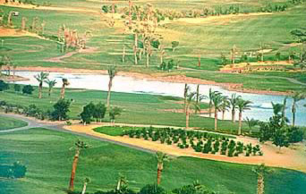 View of the Golf Course at the Katameya Heights Golf & Tennis Resort