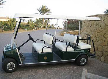 The Katameya Heights golf course supplies good, modern equipment