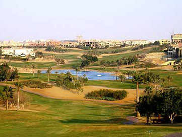 The golf community at Katameya Heights just outside Cairo