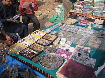 Some merchants specialize in collectable coins and bills