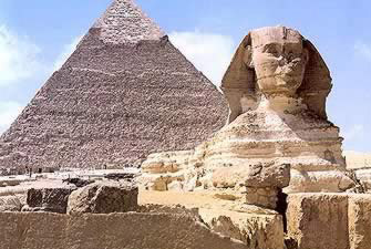 Pyramids of Egypt - Great Pyramid and Sphinx in Egypt