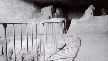 The subterranean Chamber below the Great Pyramid of Khufu
