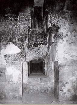 The Niche, probably for a statue of the king, in the Queen's Chamber in the Great Pyramid of Khufu at Giza