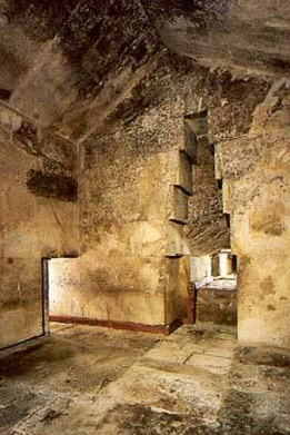The Queen's Chamber in the Great Pyramid of Khufu at Giza