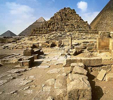 The secondary pyramid of King Khufu's Complex known as G 1c