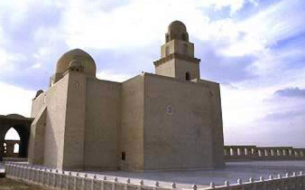A recent view of the Mahhad of al-Guyushi after renovations
