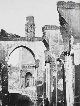 Early picture of the El-Hakim mosque
