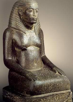 Statue of Amenhotep, Son of Hapu, Seated