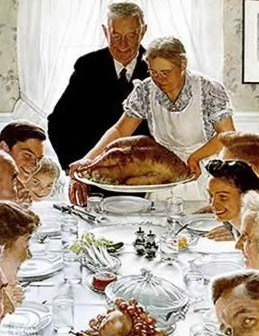 An Old Style American  Thanksgiving