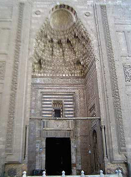 The great portal of the Mosque of Sultan Hassan