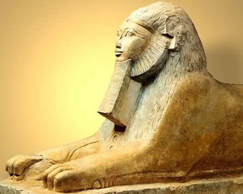 Queen Hatshepsut as Sphinx