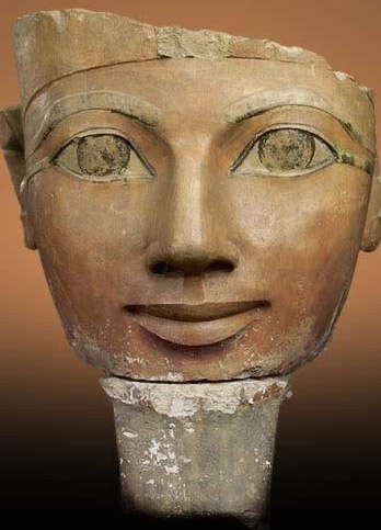 Head of a Statue of Queen Hatshepsut