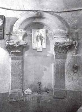 One of the Nitches at the Church of Abu Hinnis