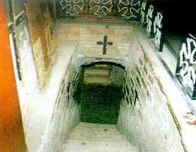 Steps of the Crypt - Virgin Mary Church, Mostorod, Kalyoubeia