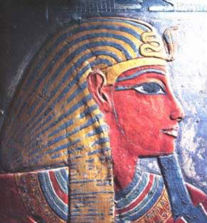 Horemheb from his tomb in the Valley of the Kings