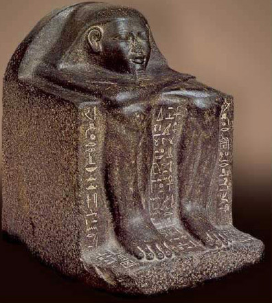 Block Statue of Hotep