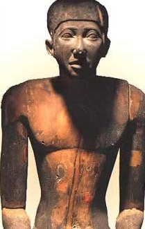 Another statue of Imhotep