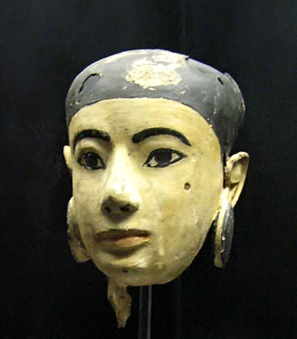 Late period mask found by the Japanese mission