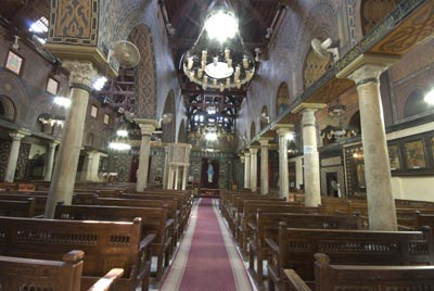 Interior of Hanging Church