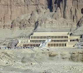 Hatshepsut's Mortuary Temple on the West Bank at Luxor