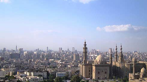 A view of Cairo from the Citadel