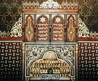 Interior of the Ben Ezra Synagogue