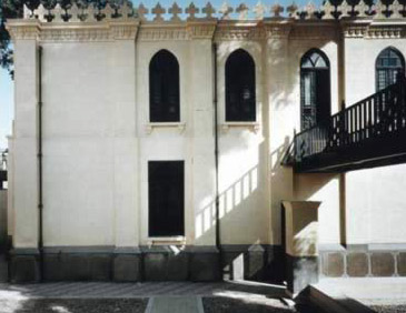 Couryard of the Ben Ezra Synagogue
