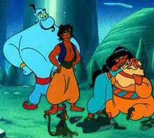 Though his actions may be in question, perhaps the genie from Aladdin was not so distant from our imagination of a jinn