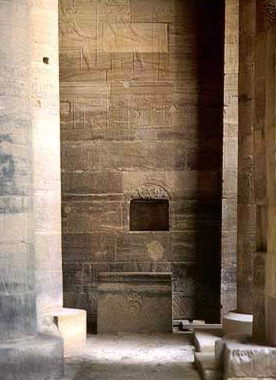 A Combination of Religions as the Island of Philae, with a church set up in the Temple of Isis