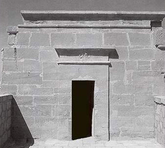 Facade of the Temple of Thoth