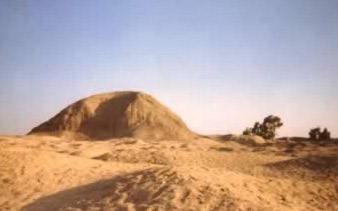 The pyramid at Kahun