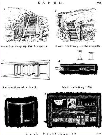Early construction drawings
