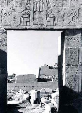 Antechamber of Tuthmosis III, South Doorway