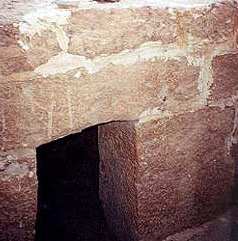 The priest hole from which oracles may have been delivered