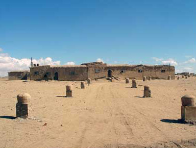 The more complete house located at the site of Karanis was actually built by Miles Lampson, the British High Commissioner during the early part of the 20th century