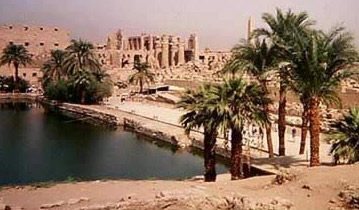 The Sacred Lake, a part of the Temple of Amun at Karnak