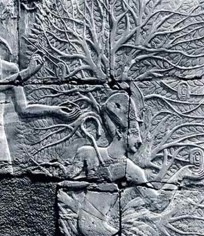 Seti I in the Persea Tree