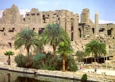 The Temple of Karnak, Luxor