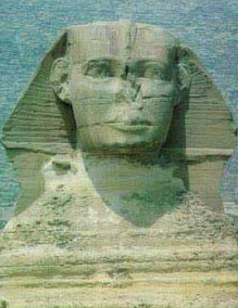 The face of the Great  Sphinx is said to be that of Khafre