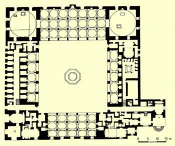 Groundplan of the complex