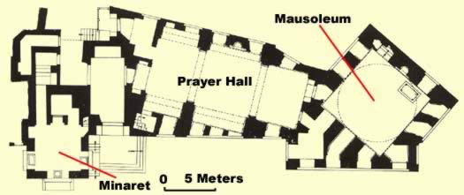 Plan of the complex