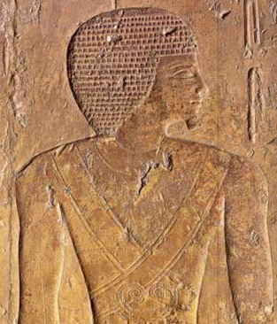 Khufukhaf, a Priest and son of Khufu from his Pyramid G 7140 at Giza