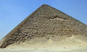 The Red Pyramid at Dahshur is a Tour Egypt favorite